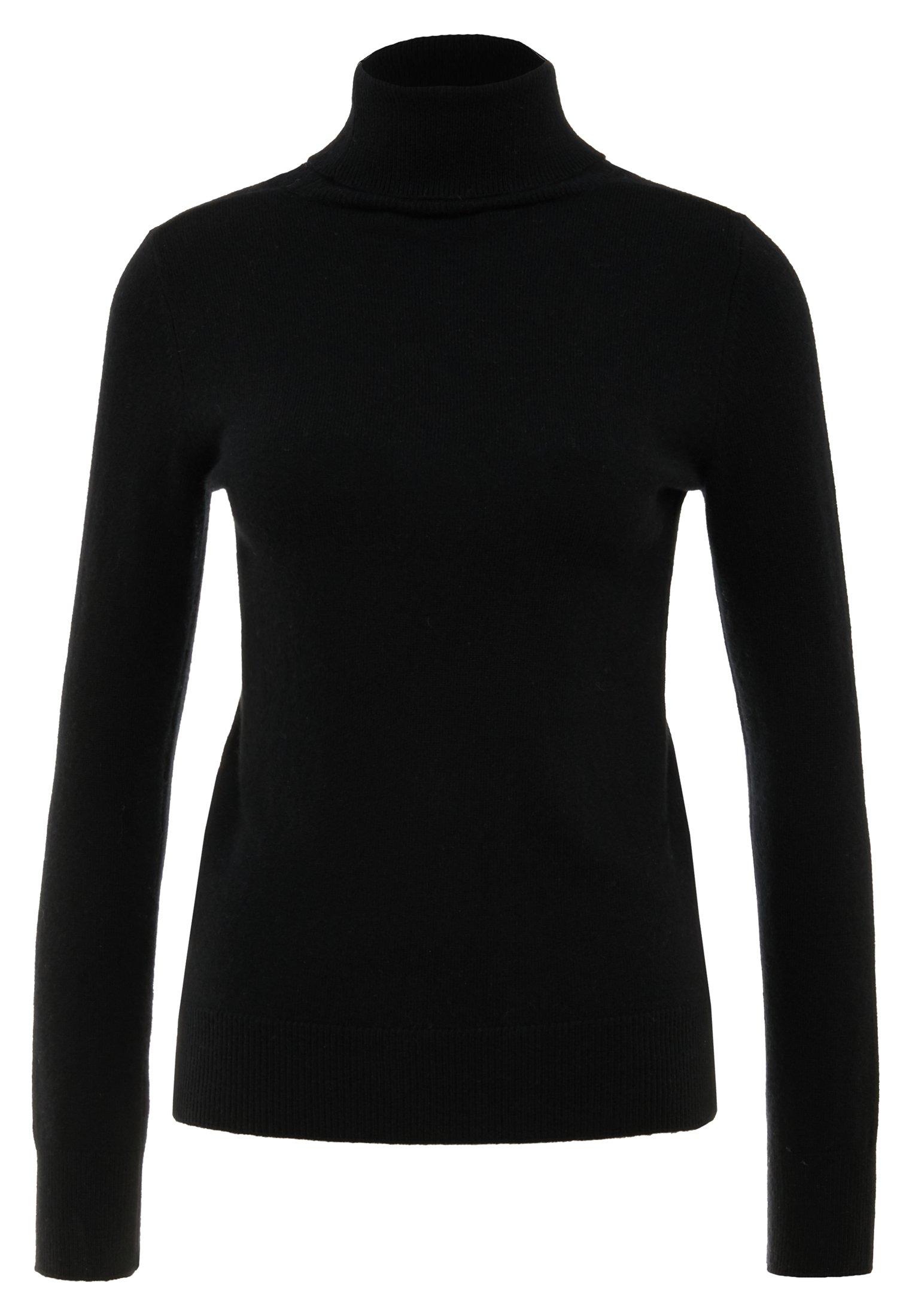 TURTLENECK Stickad tröja black