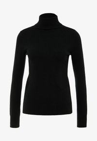 pure cashmere - TURTLENECK - Svetr - black - 3