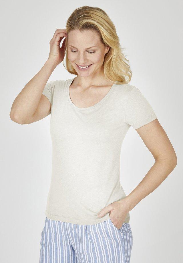 PAULINE - Basic T-shirt - offwhite