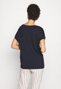 s.Oliver - KURZARM - Basic T-shirt - navy - 2