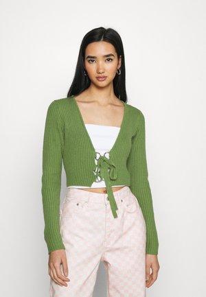 PURIFIED - Cardigan - green