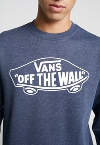 Vans - CREW - Sweatshirts - dress blues heather