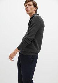 Mango - Zip-up hoodie - grey - 3