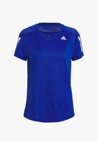 adidas Performance - OWN THE RUN TEE - T-shirts med print - blue - 4