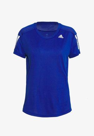 OWN THE RUN TEE - T-shirt imprimé - blue