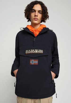 RAINFOREST SUMMER POCKET - Windbreaker - blu marine