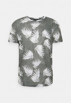 JPRBLABAKER TEE CREW NECK - T-shirt con stampa - new sage