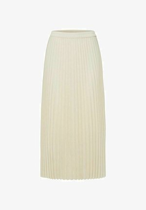 Pleated skirt - birch