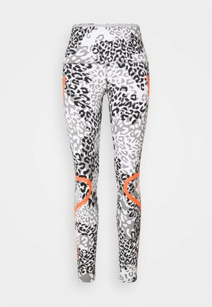 TRUEPACE - Leggings - white/ash/black