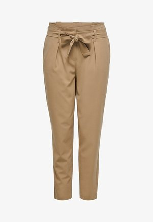 ONLNICOLE PAPERBAG  - Trousers - camel