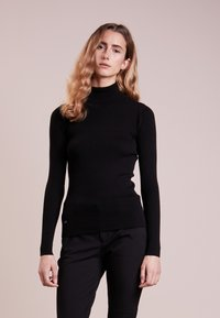 Lauren Ralph Lauren - TURTLE NECK - Svetr - polo black - 0