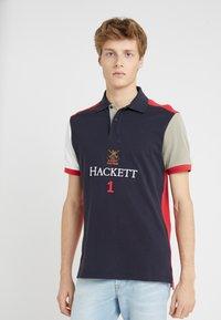 Hackett London - Koszulka polo - navy/multi - 0