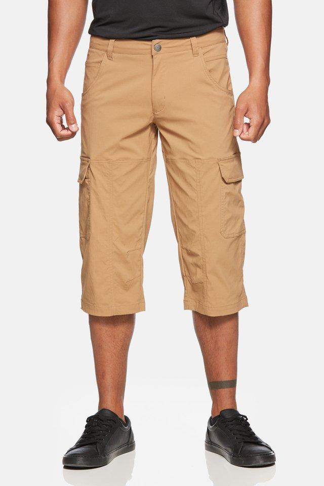 TORNADO - Pantalon 3/4 de sport - tobaco