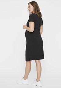 MAMALICIOUS - MLLEA DRESS - Jerseykjole - black - 2