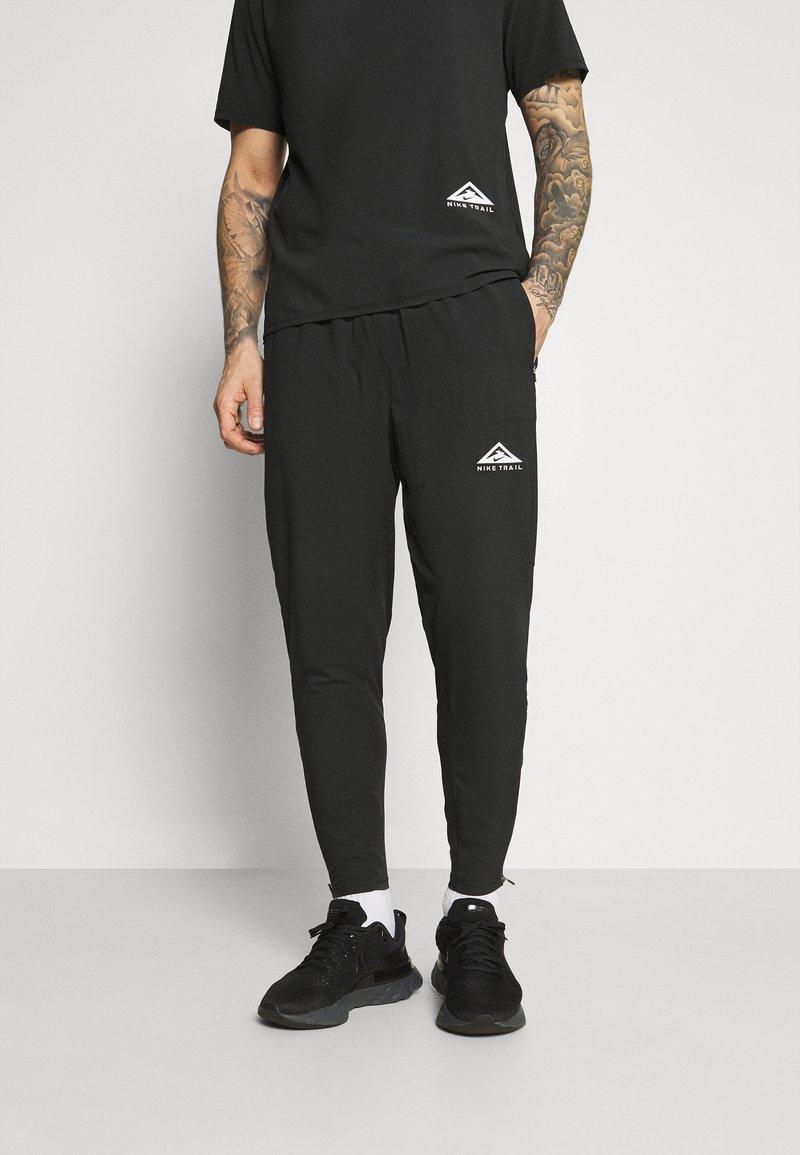 Nike Performance - ELITE PANT TRAIL - Pantalones deportivos - black/white