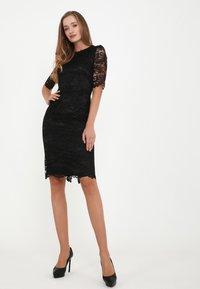 Madam-T - TROPICANA KR - Cocktail dress / Party dress - schwarz - 3