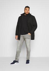 Burton Menswear London - 2 PACK - Polo shirt - black/grey - 0