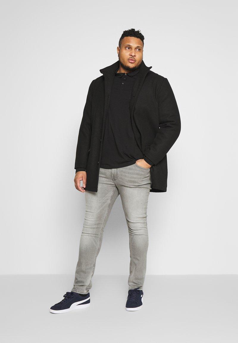 Burton Menswear London - 2 PACK - Polo shirt - black/grey