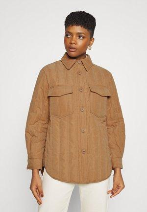 YASVILANA QUILTED JACKET - Summer jacket - tobacco brown