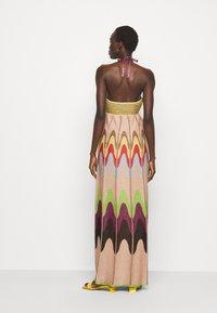 M Missoni - ABITO LUNGOSENZA MANICHE - Jumper dress - multicoloured - 2