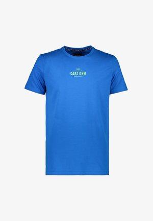 T-shirt print - kobalt