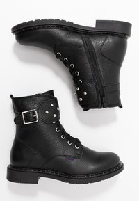 Richter - Cowboy/biker ankle boot - black - 0