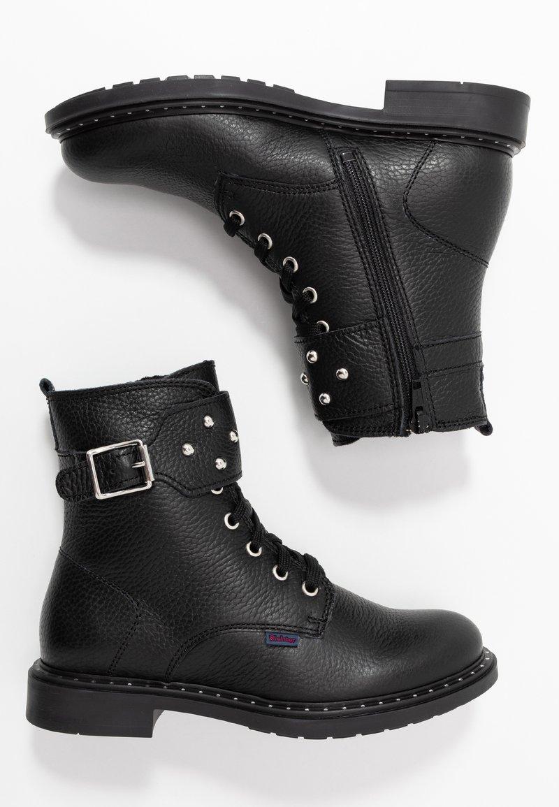 Richter - Cowboy/biker ankle boot - black