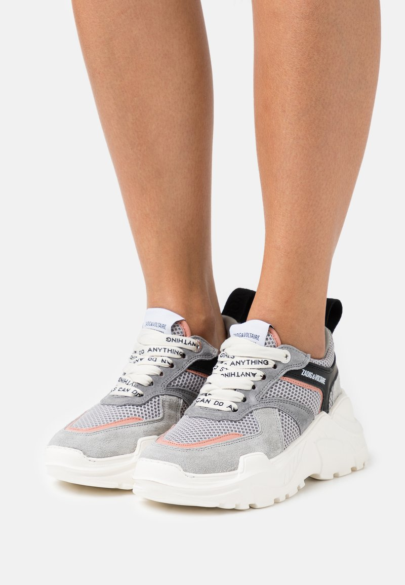Zadig & Voltaire - FUTURE  - Sneakers laag - grey