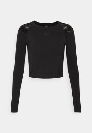 ONPJABRIL SHORT - Long sleeved top - black