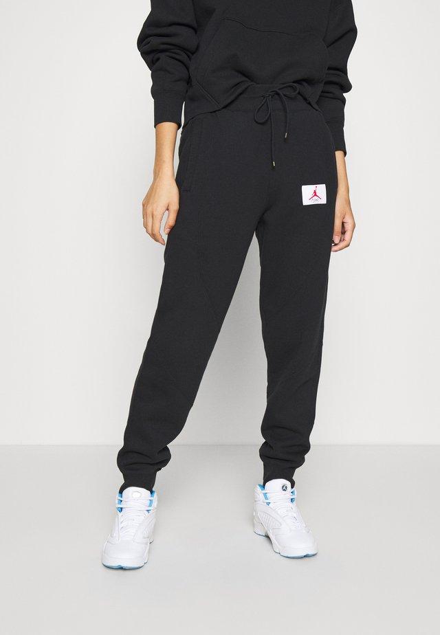 FLIGHT PANT - Pantaloni sportivi - black
