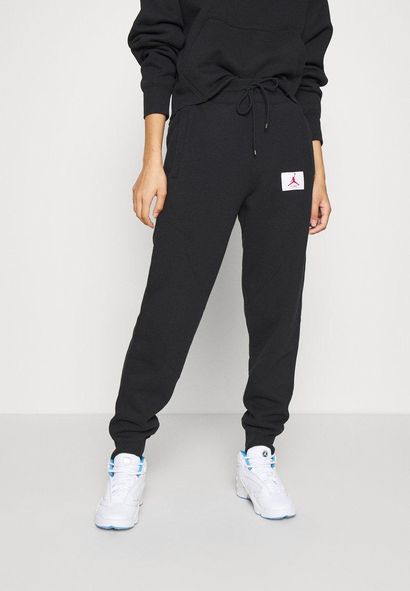 Jordan - FLIGHT PANT - Tracksuit bottoms - black