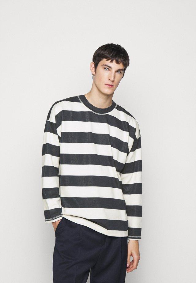 BENJA - T-shirt à manches longues - navy
