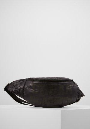 PUFFER SHOULDER BAG - Ledvinka - black