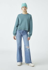 PULL&BEAR - Sweatshirt - green - 1