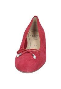 ara - Ballerinaskor - red - 1