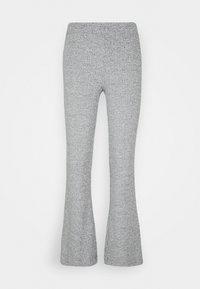 VMKAMMA FLARED PANT - Trousers - light grey melange