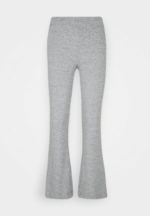 VMKAMMA FLARED PANT - Trousers - light grey melange