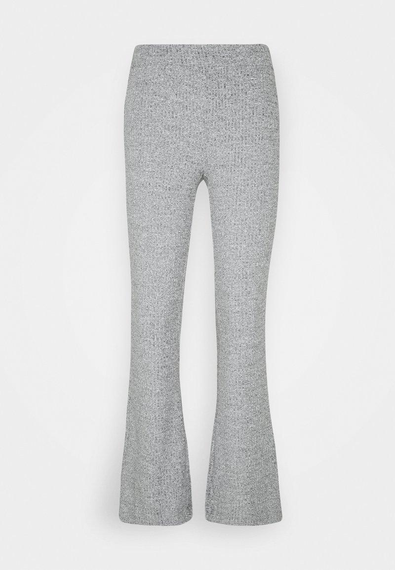 Vero Moda - VMKAMMA FLARED PANT - Bukser - light grey melange