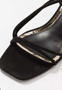 Head over Heels by Dune - MALACHI - Sandals - black - 5