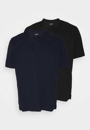 2 PACK - Poloshirt - navy blazer/black