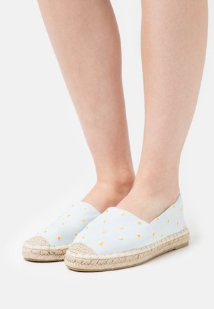 Espadrilles - light blue