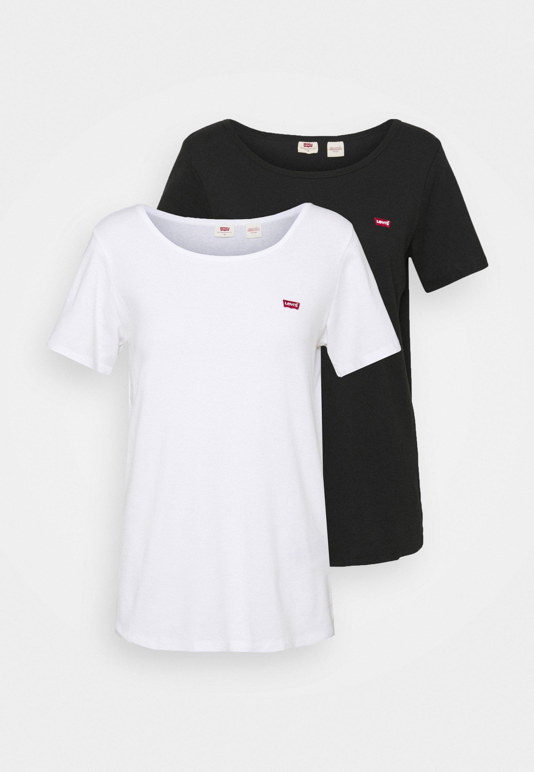 Damen TEE 2 PACK - T-Shirt print
