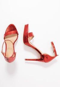 ALDO - MADALENE - High heeled sandals - other red - 3