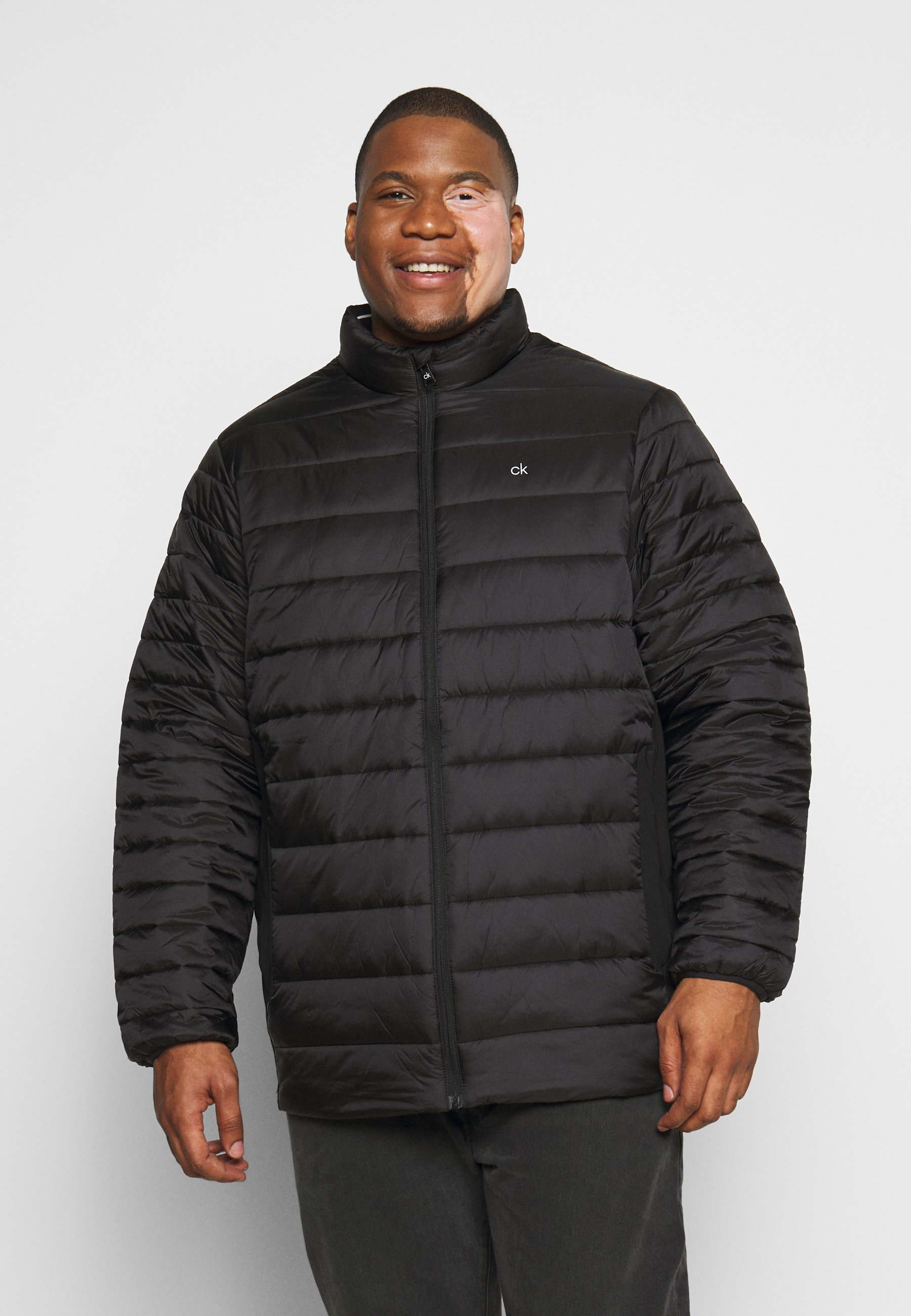Particular Discount Wholesale Calvin Klein LIGHT WEIGHT SIDE LOGO JACKET - Winter jacket - black | men's clothing 2020 HYadK
