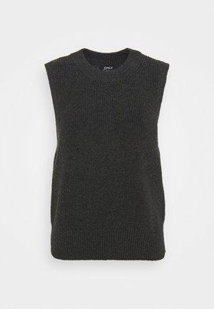 ONLPARIS LIFE VEST - Jumper - dark grey melange