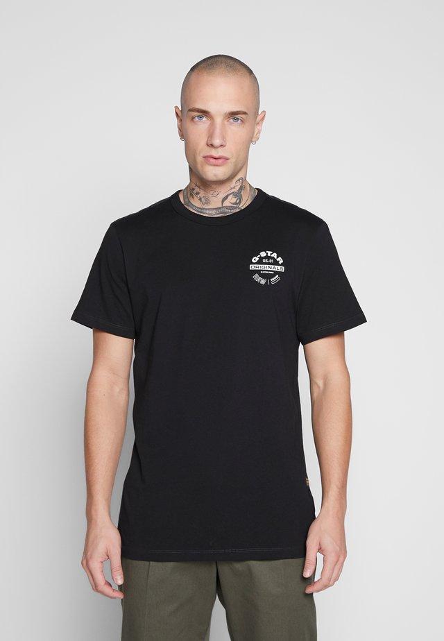 ORIGINALS LOGO GR - T-shirt print - black
