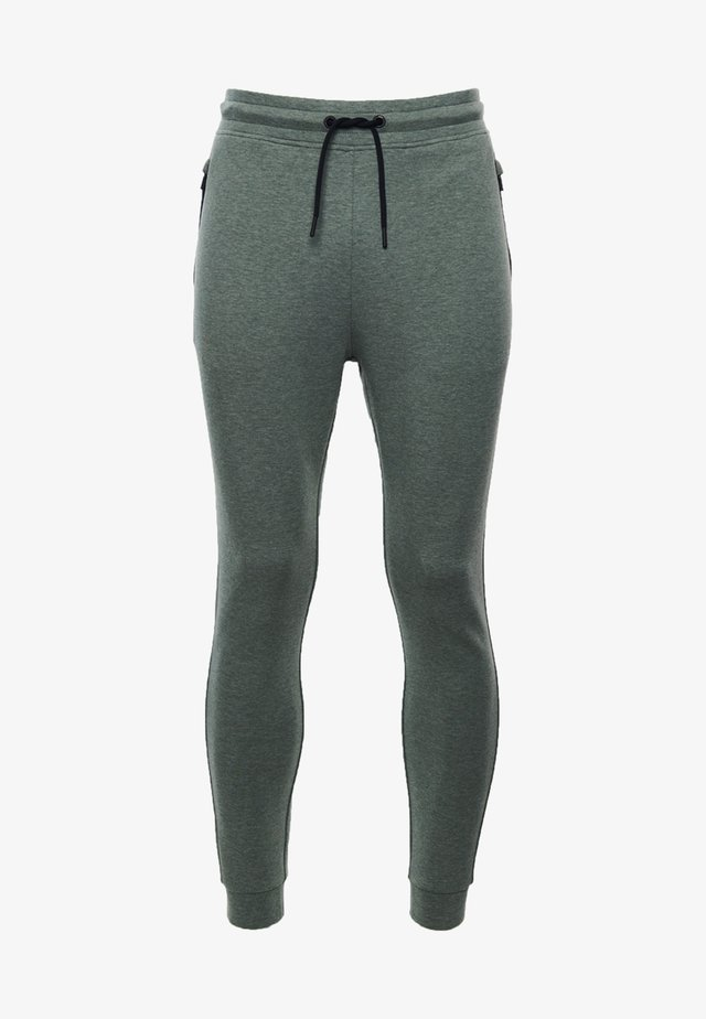 TRAINING GYMTECH - Tracksuit bottoms - military duck