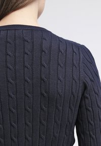 GANT - CABLE CREW - Pullover - evening blue - 5