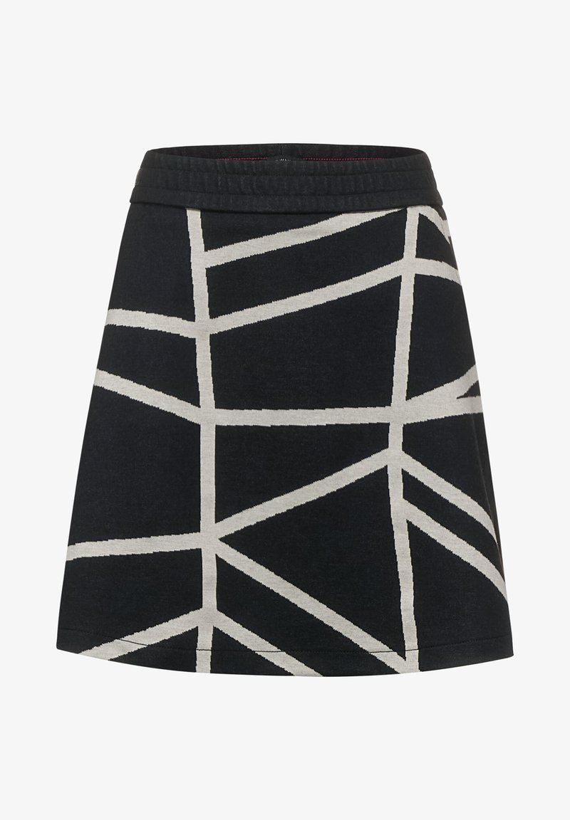 Street One - A-line skirt - schwarz