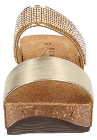 Scapa - Wedge sandals - platin - 6